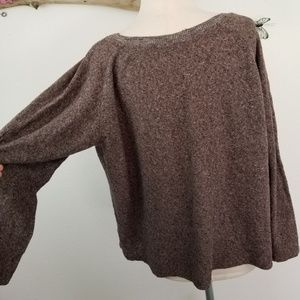Zara oversized slouchy heathered sweater